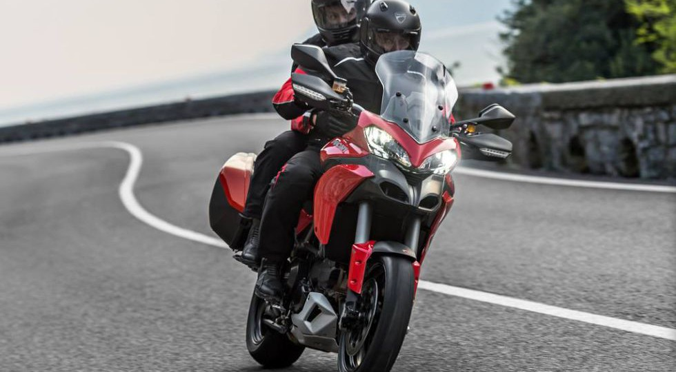 Ducati Multistrada D-Air, con airbag incorporado