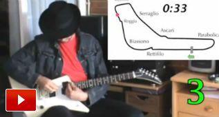 Así suena un F1… interpretado por una guitarra eléctrica