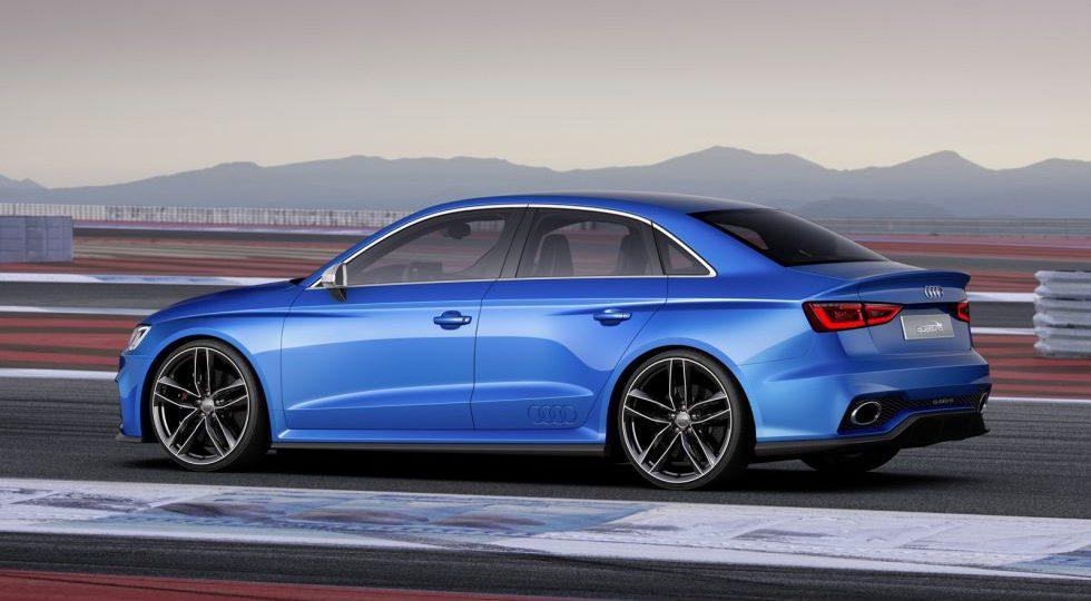 Audi A3 Clubsport Quattro Concept, el futuro RS3 Sedán