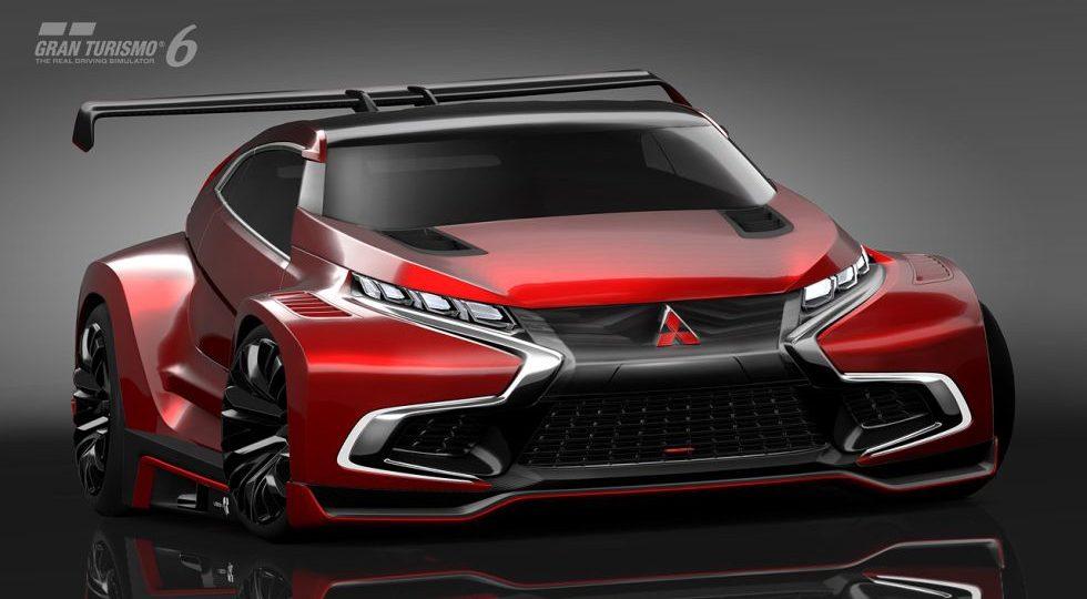 XR-PHEV Evolution Vision, el Mitsubishi de Gran Turismo 6