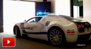 Los coches de policía de Dubái