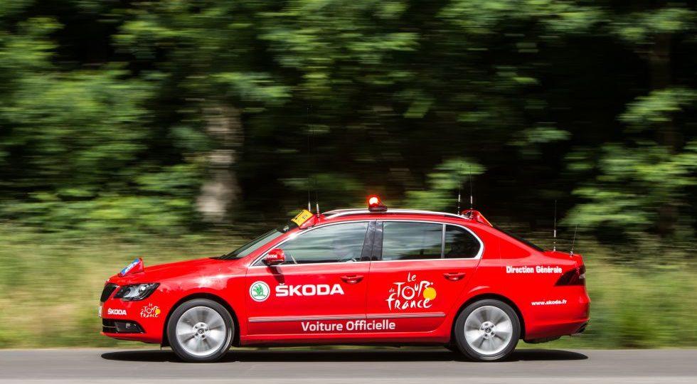 Skoda es el patrocinador oficial del Tour de Francia 2014