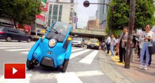 El i-ROAD rueda por Tokio