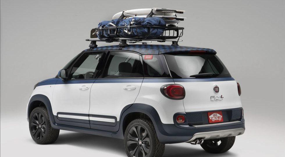 Vans y Fiat se unen en un 500L