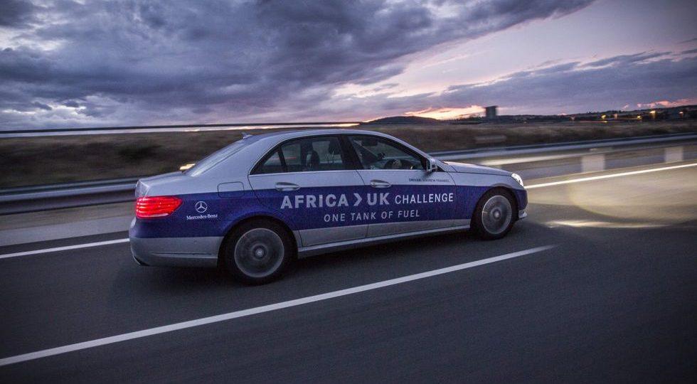 De África a Reino Unido con un solo depósito de combustible