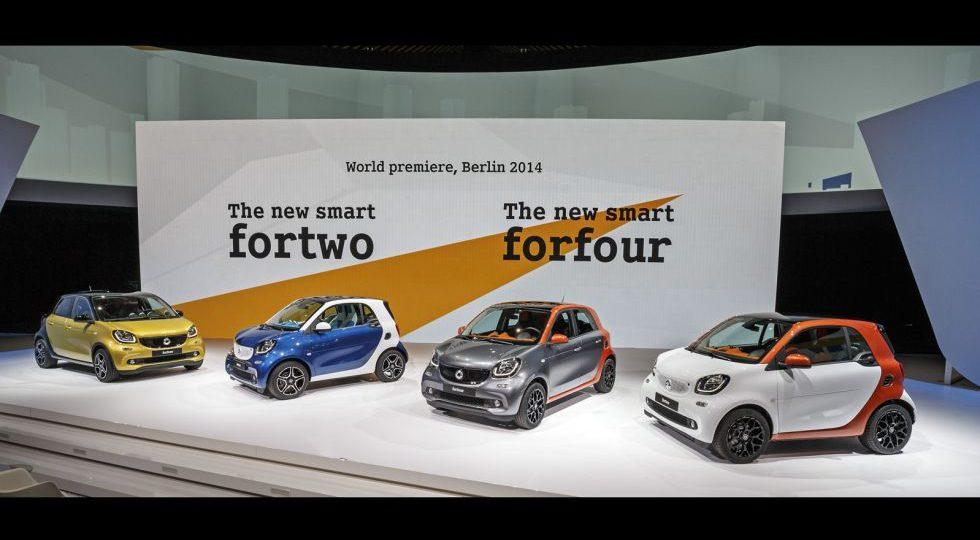 Los nuevos smart ya tienen precio… en Alemania
