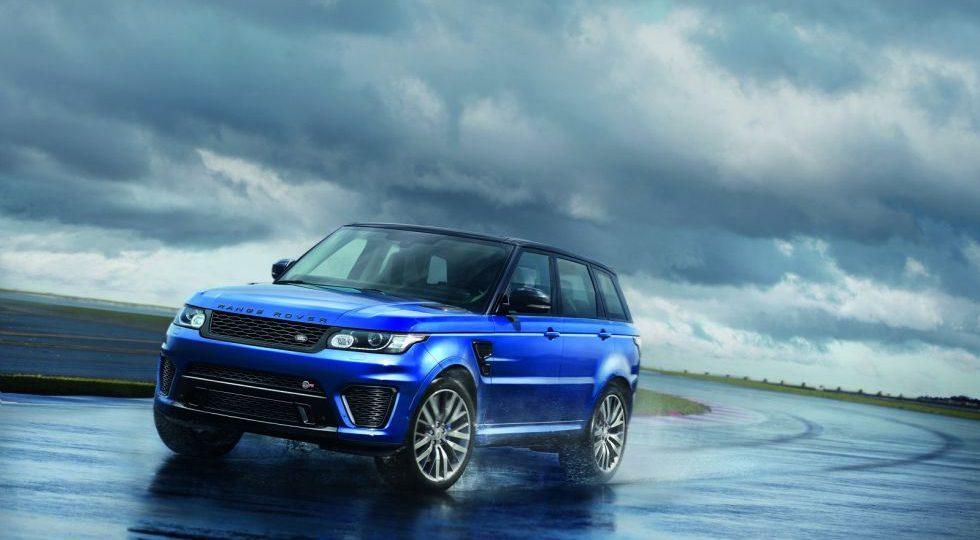 El Range Rover Sport SVR es una auténtica bestia