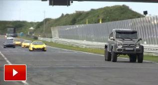 El Mercedes G63 AMG 6×6 también vale para circuito
