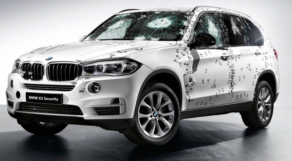 BMW X5 F15 Security Plus, a prueba de balas