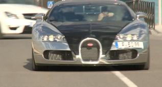 El Bugatti Veyron, el coche favorito de Karim Benzema