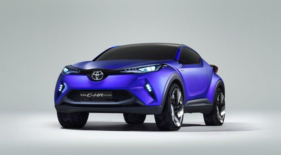 El C-HR es el futuro crossover deportivo de Toyota