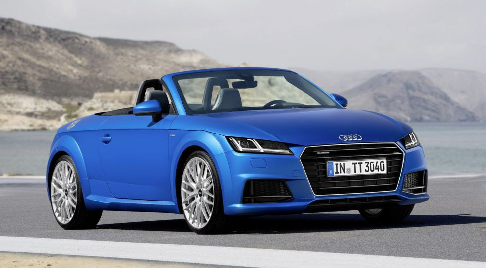El Audi TT se descapota