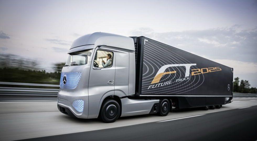 Así es el camión del futuro visto por Mercedes-Benz