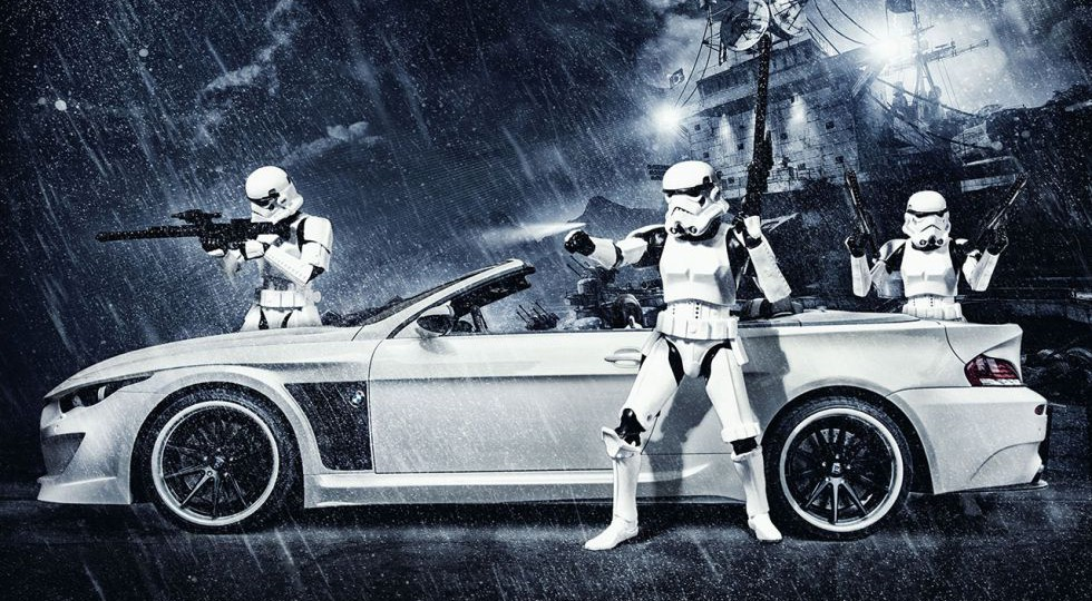 «Que la fuerza te acompañe, BMW M6 Cabrio»