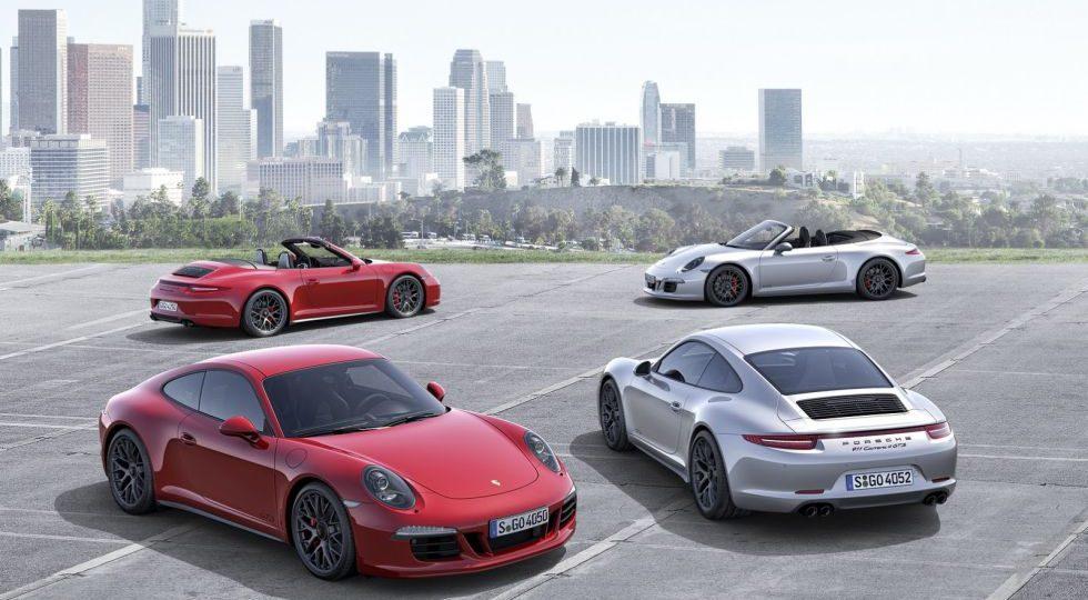 El Porsche 911 GTS se actualiza