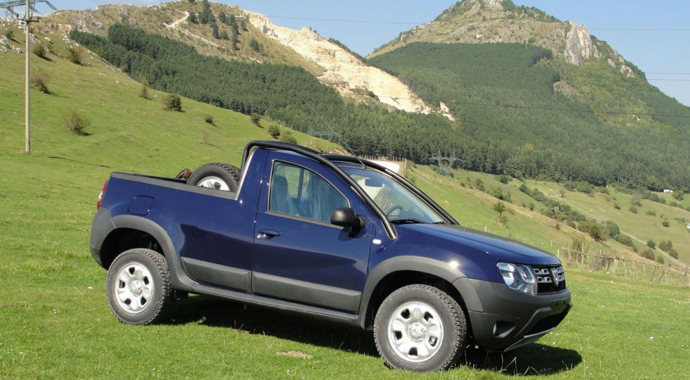 El Duster se viste de pick-up