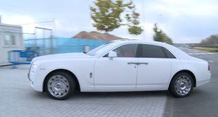 Cristiano luce otra joya de su flota de coches: un Rolls Royce