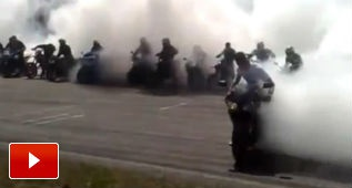 Récord de quemar rueda