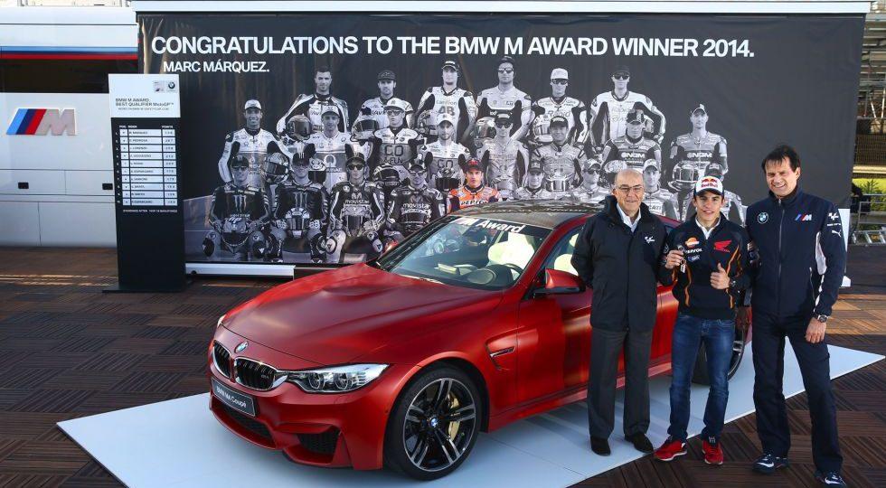 Márquez gana otro BMW M