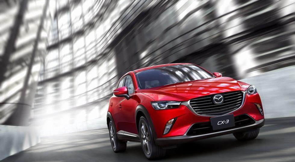 Llega el CX-3, todocamino compacto basado en el Mazda2