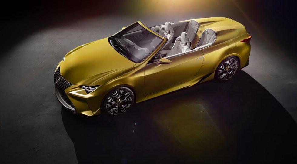 LF-C2 Concept, el cabrio de Lexus que está en camino