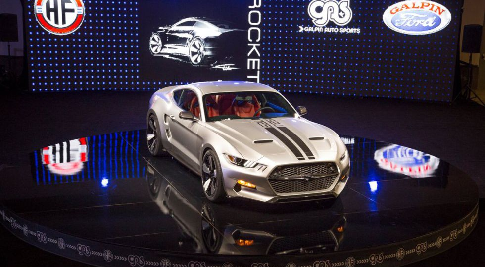 Galpin Fisker Rocket, una nueva visión del Ford Mustang