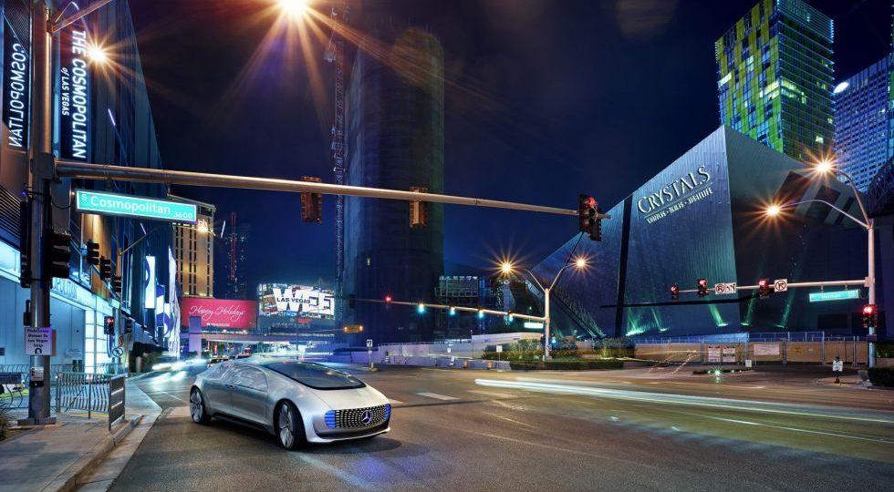 Mercedes presenta su coche autónomo para el 2030