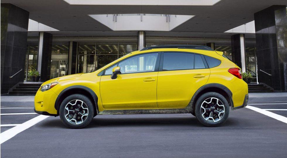 Solo habrá 1.000 Subaru XV Crosstrek amarillos