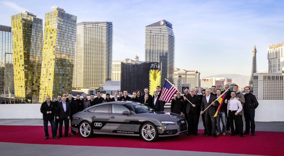 El A7 Sportback piloted driving se desenvuelve solo en carretera