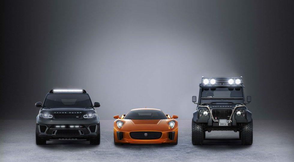 Jaguar-Land Rover va con todo a la próxima película de 007