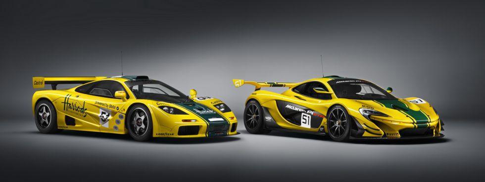McLaren revela el P1 GT-R