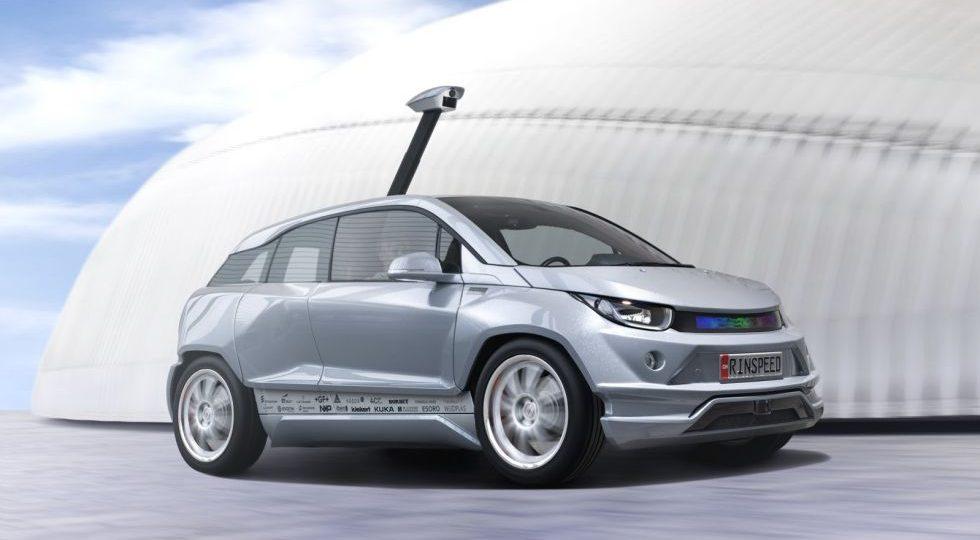Budii Concept, el BMW i3 autónomo de Rinspeed