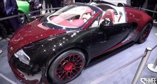 Bugatti celebra los 10 años del Veyron
