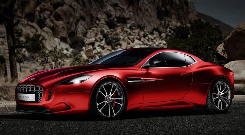 Thunderbolt, el Aston Martin Vantage de Henri Fisker