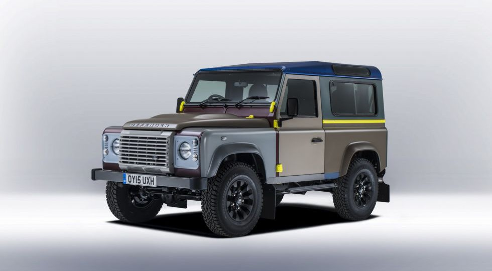 El Land Rover Defender de Paul Smith es multicolor