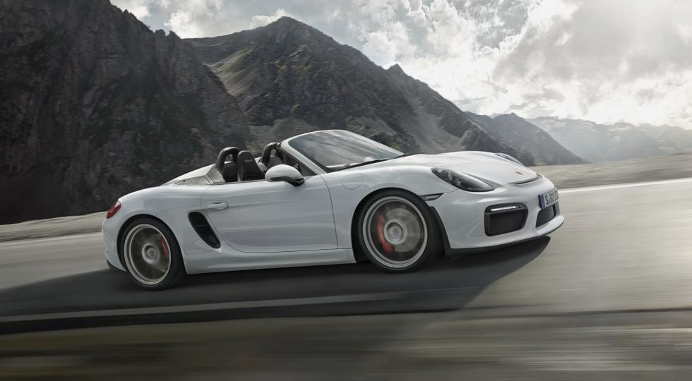 Porsche Boxster Spyder, tu Cayman GT4 descapotado
