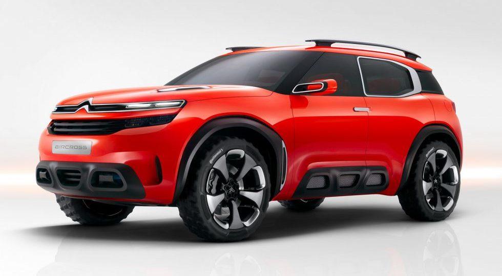 Citroën Aircross Concept, un SUV por encima del Cactus