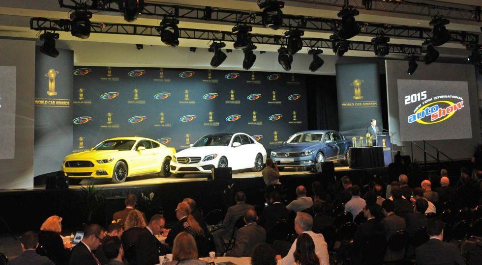Mercedes Clase C, Cochedel Año en el Mundo 2015