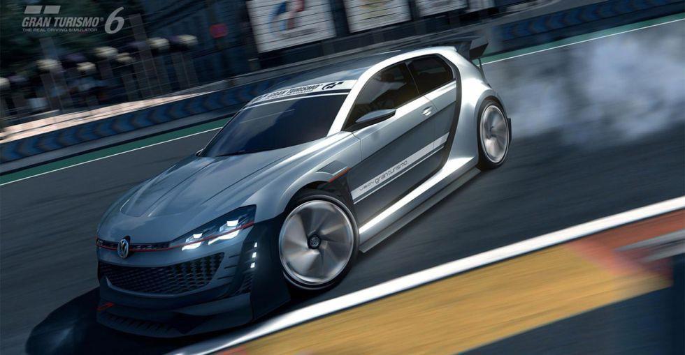 Un VW Golf GTI de 503 CV… para Gran Turismo 6