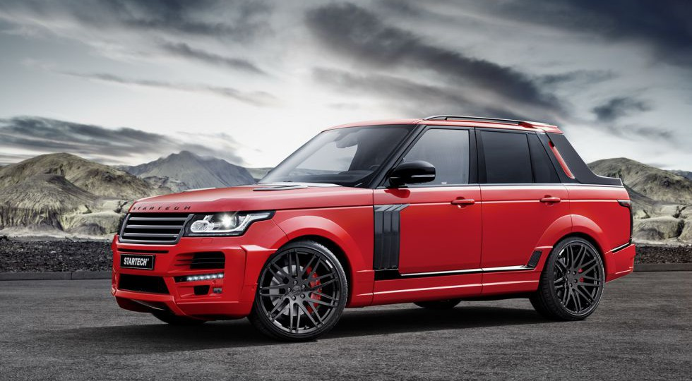 Startech transforma un Range Rover en un pick-up