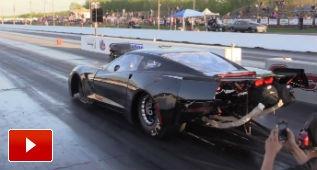 El Corvette C7 perfecto para hacer drag: ¡3.500 CV!