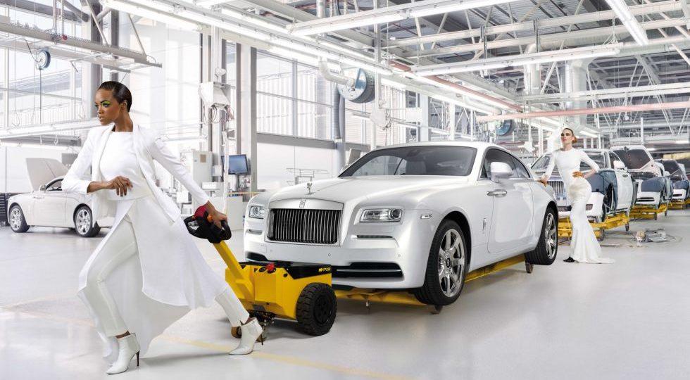 """Wraith """"Inspired by Fashion"""", alta costura por Rolls-Royce"""