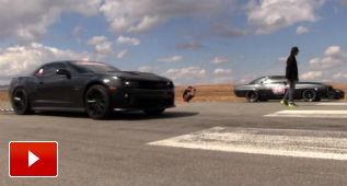 Batalla generacional de Chevrolet Camaros