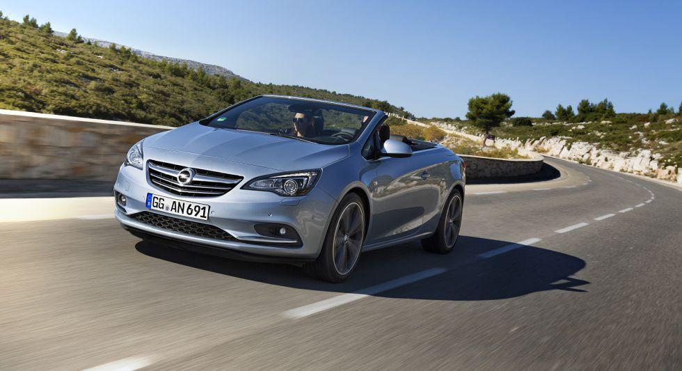 El Opel Cabrio estrena nuevo motor 2.0 CDTI de 170 CV