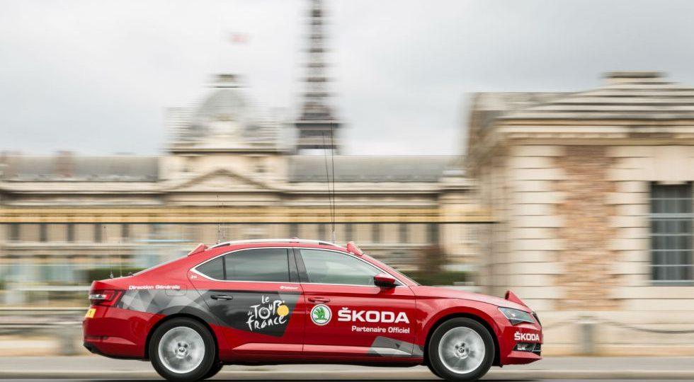 Skoda, vehículo oficial del Tour