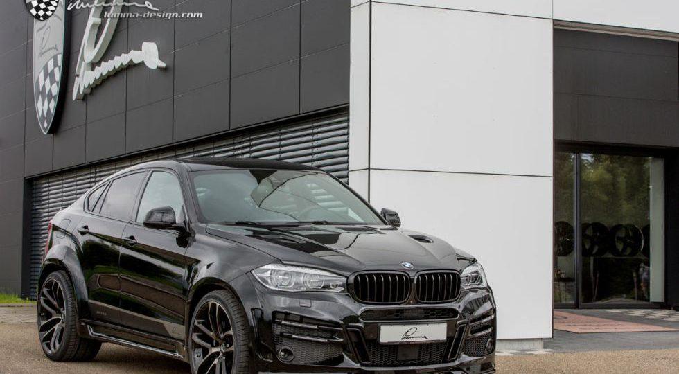 Más músculo y caballos para el BMW X6 de Lumma