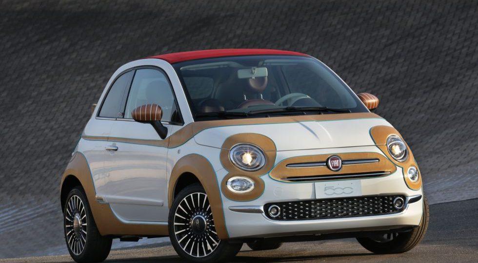 El Fiat 500 se viste de cuero por una buena causa
