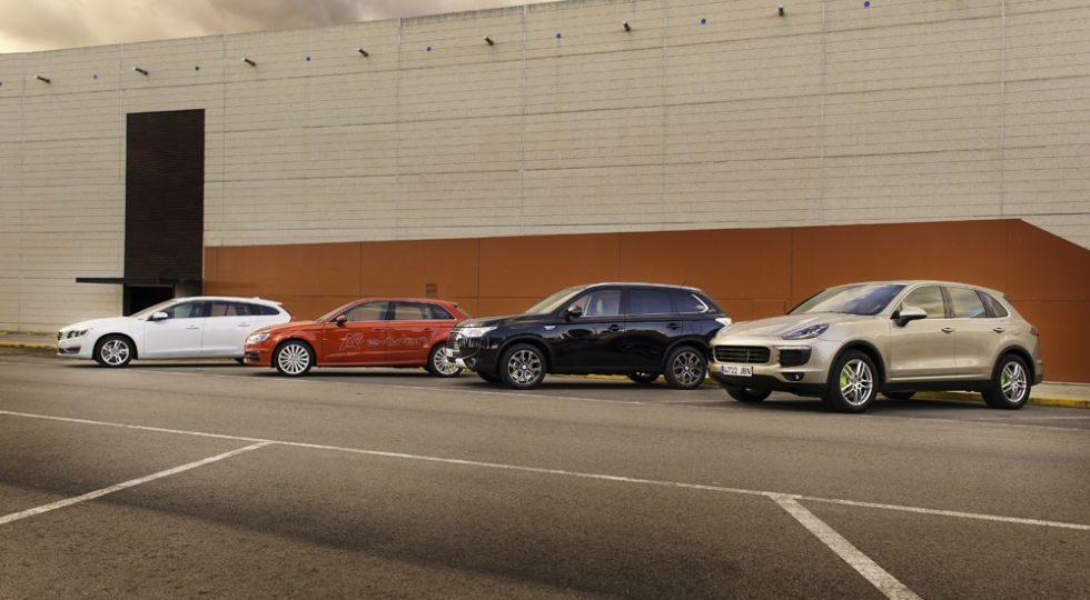 El Mitsubishi es el mejor como eléctrico y el Porsche como térmico