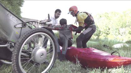 Una silla de ruedas todoterreno inspirada en la Fórmula 1