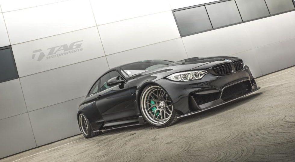 TAG hace que el BMW M4 te guste aún más